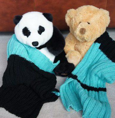 bear blankets black